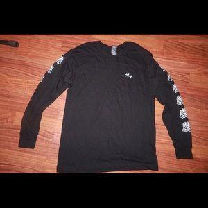 Obey rose long sleeve shirt